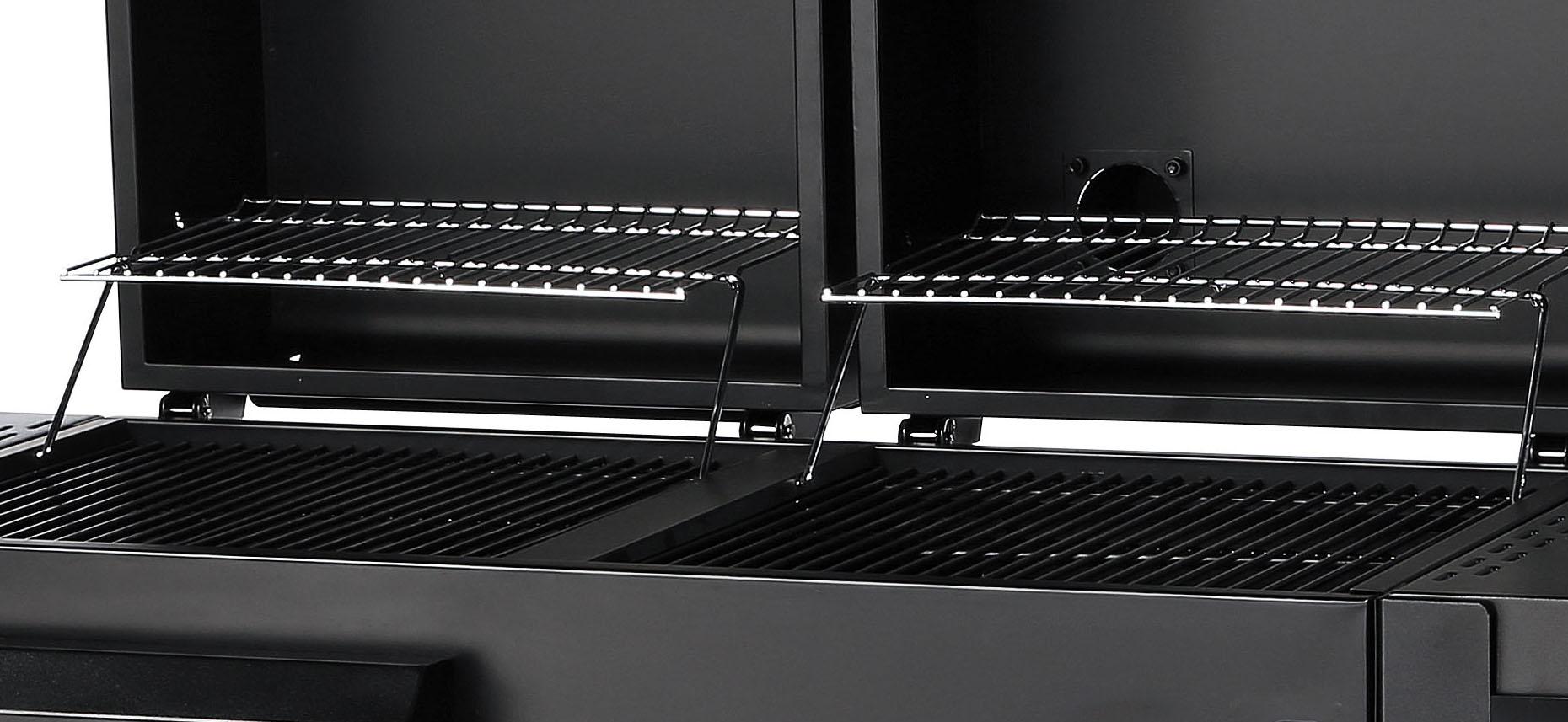 set aktion twin grill t36 kombigrill mit gas und holzkohle von chef centre ebay. Black Bedroom Furniture Sets. Home Design Ideas