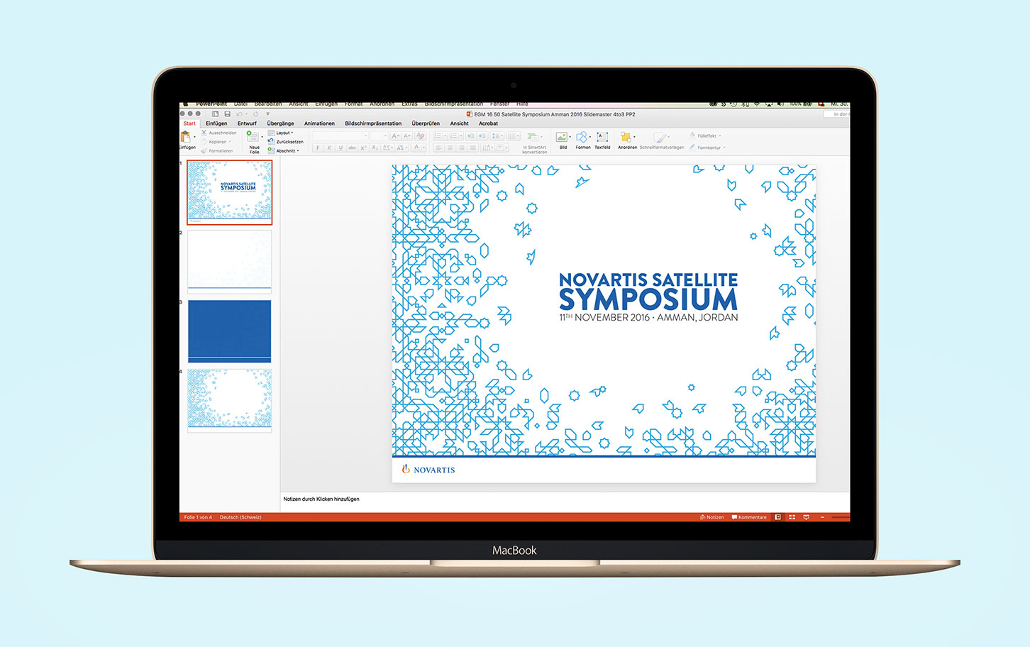 Novartis Satellite Symposium - KUP Werbeagentur